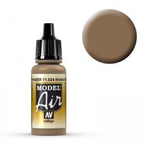 Model Air - Khakibraun (Khaki Brown) - 17 ml · VAL MA71024 ·  Acrylicos Vallejo
