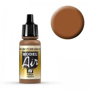Model Air - US Mattbraun (US Flat Brown) - 17 ml · VAL MA71026 ·  Acrylicos Vallejo