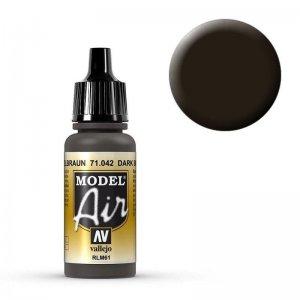 Model Air - Tarnfarbe Schwarzbraun (Cam. Black Brown) - 17 ml · VAL MA71042 ·  Acrylicos Vallejo