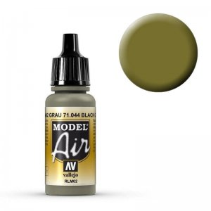 Model Air - helles Graugrün (Light Grey Green) - 17 ml · VAL MA71044 ·  Acrylicos Vallejo
