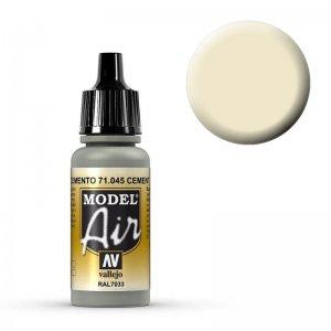 Model Air - US Hellgrau (US Grey Light) - 17 ml · VAL MA71045 ·  Acrylicos Vallejo