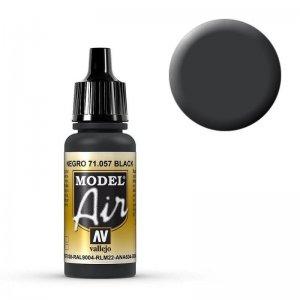 Model Air - Schwarz (Black) - 17 ml · VAL MA71057 ·  Acrylicos Vallejo