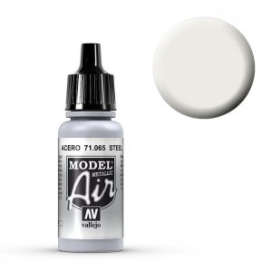 Model Air - Stahl (Steel) - 17 ml · VAL MA71065 ·  Acrylicos Vallejo