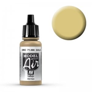 Model Air - Gold (Gold) - 17 ml · VAL MA71066 ·  Acrylicos Vallejo