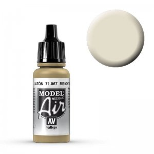 Model Air - Messing (Bright Brass) - 17 ml · VAL MA71067 ·  Acrylicos Vallejo