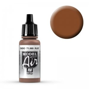 Model Air - Rost (Metal Rost) - 17 ml · VAL MA71069 ·  Acrylicos Vallejo
