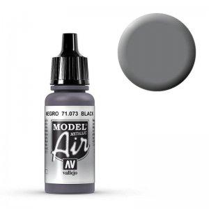 Model Air - Schwarz (Black Metal) - 17 ml · VAL MA71073 ·  Acrylicos Vallejo
