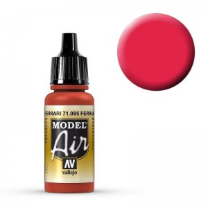 Model Air - Ferrarirot (Italian Red) - 17 ml · VAL MA71085 ·  Acrylicos Vallejo
