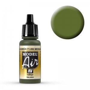 Model Air - Mittelgrün (Medium Green) - 17 ml · VAL MA71092 ·  Acrylicos Vallejo