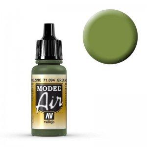 Model Air - Zinkgrün (Green Zinc Chromate) - 17 ml · VAL MA71094 ·  Acrylicos Vallejo