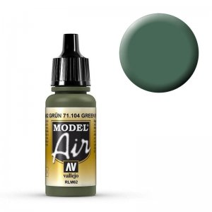 Model Air - Grün (Green) RLM 62 - 17 ml · VAL MA71104 ·  Acrylicos Vallejo