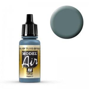 Model Air - US Intermediate Blau (US Intermediate Blue) - 17 ml · VAL MA71113 ·  Acrylicos Vallejo