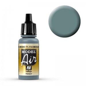 Model Air - US Blaugrau (US Blue Grey) - 17 ml · VAL MA71114 ·  Acrylicos Vallejo