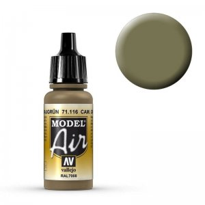 Model Air - Graugrün (RAL7008) - 17 ml · VAL MA71116 ·  Acrylicos Vallejo
