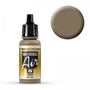 Model Air - Grey (RAL7027) - 17 ml · VAL MA71118 ·  Acrylicos Vallejo