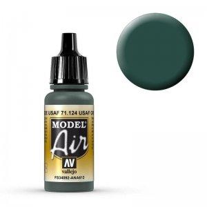 Model Air - USAF Grün (USAF Green) - 17 ml · VAL MA71124 ·  Acrylicos Vallejo