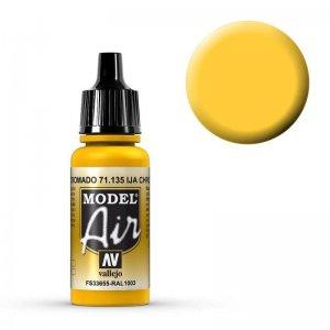 Model Air - IJA Chrome Yellow - 17 ml · VAL MA71135 ·  Acrylicos Vallejo