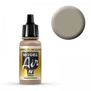 Model Air - US Wüstensand - 17 ml · VAL MA71140 ·  Acrylicos Vallejo