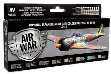 Farbset, Japanische Luftwaffe IJA Set 1 · VAL MA71152 ·  Acrylicos Vallejo