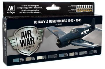 WWII USN Aircraft (8) · VAL MA71157 ·  Acrylicos Vallejo