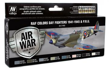 WWII RAF Day Fighters (8) · VAL MA71162 ·  Acrylicos Vallejo