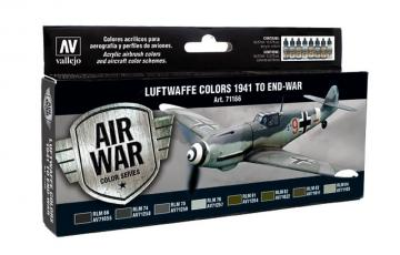 Model Air Set RLM-Farben 2 (Reichsluftfahrtministerium) (8) · VAL MA71166 ·  Acrylicos Vallejo