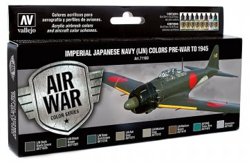 Farbset, Japanische Luftwaffe IJA Set 2 · VAL MA71169 ·  Acrylicos Vallejo