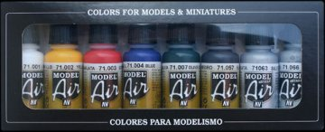Basic Colors (8) · VAL MA71174 ·  Acrylicos Vallejo