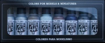 Metallic Colors (8) · VAL MA71176 ·  Acrylicos Vallejo