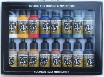 Model Air Set Basisfarben · VAL MA71178 ·  Acrylicos Vallejo
