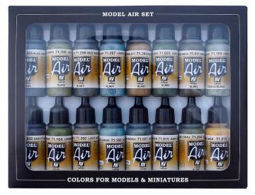 RLM-Farben 3 (Reichsluftfahrtministerium) - Farbset - 16 x 17 ml · VAL MA71193 ·  Acrylicos Vallejo