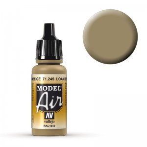 Model Air - Lehmbeige (RAL 1040) - 17 ml · VAL MA71245 ·  Acrylicos Vallejo