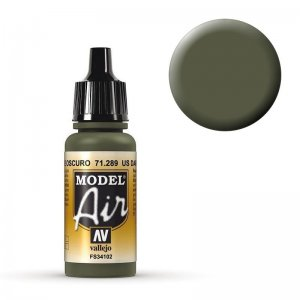 Model Air - Dunkles Grün, US - 17 ml · VAL MA71289 ·  Acrylicos Vallejo