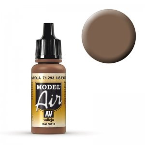 Model Air - Erd-Rot, US - 17 ml · VAL MA71293 ·  Acrylicos Vallejo