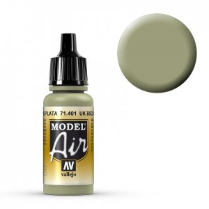 UK BSC 28 Silber-Grau - 17 ml · VAL MA71401 ·  Acrylicos Vallejo
