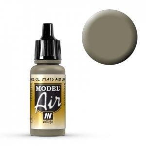 helles gräuliches Braun, A-21 - 17 ml · VAL MA71415 ·  Acrylicos Vallejo