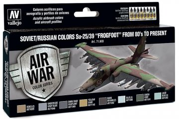 Model Air Farbset - SU 25/39 Frogfoot (8x17ml) · VAL MA71603 ·  Acrylicos Vallejo