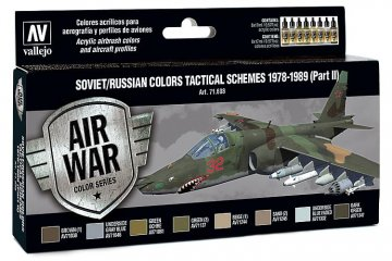 Model Air Farbset - Russische Tarnung 1978 - 1989 (8x17ml) · VAL MA71608 ·  Acrylicos Vallejo