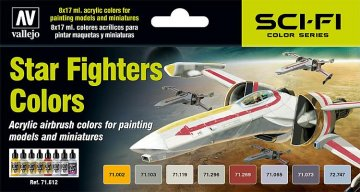 Farbset, Star Fighters · VAL MA71612 ·  Acrylicos Vallejo