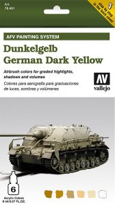 AFV Armour Painting System - Dunkelgelb · VAL MA78401 ·  Acrylicos Vallejo