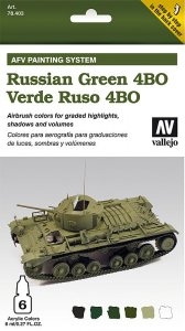 AFV Armour Painting System Russian Green 4BO · VAL MA78403 ·  Acrylicos Vallejo