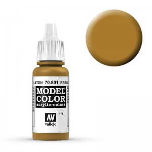 Model Color - Messing (Brass) [174] · VAL MC70801 ·  Acrylicos Vallejo