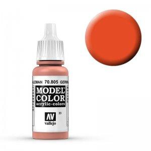 Model Color - Lachsorange (German Orange) [023] · VAL MC70805 ·  Acrylicos Vallejo