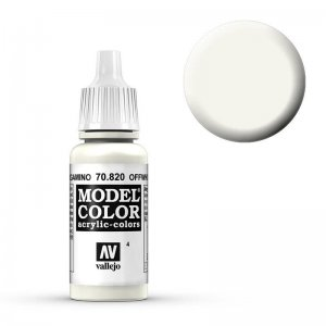 Model Color - Cremeweiss (Offwhite) [004] · VAL MC70820 ·  Acrylicos Vallejo