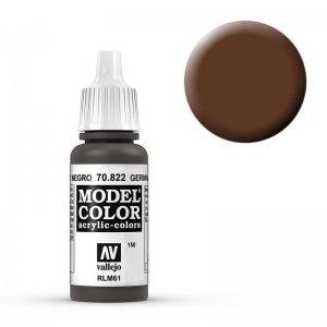 Model Color - Schwarzbr. Tarnung (Ger.Black Brown) [150] · VAL MC70822 ·  Acrylicos Vallejo