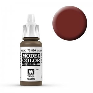 Model Color - Mittelbraune Tarnung (Ger.Med. Brown) [145] · VAL MC70826 ·  Acrylicos Vallejo
