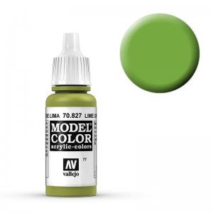 Model Color - Lindgrün (Lime Green) [077] · VAL MC70827 ·  Acrylicos Vallejo