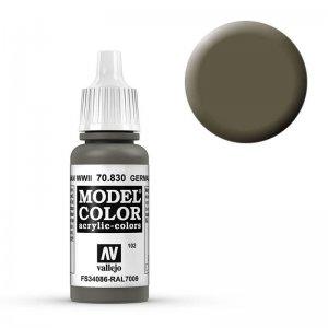 Model Color - Feldgrau (German Fieldgrey WWII) [102] · VAL MC70830 ·  Acrylicos Vallejo
