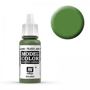 Model Color - Hellgrüne Tarnung (Ger. Cam. Br. Gr.) [080] · VAL MC70833 ·  Acrylicos Vallejo