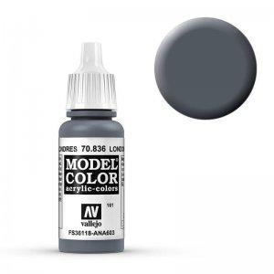 Model Color - London Grau (London Grey) [161] · VAL MC70836 ·  Acrylicos Vallejo